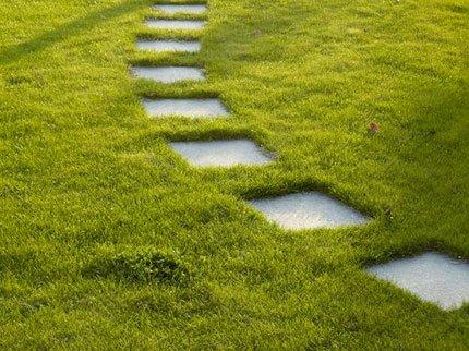 Gres porcellanato outdoor 20mm - Posa piastrelle da giardino su terra ...