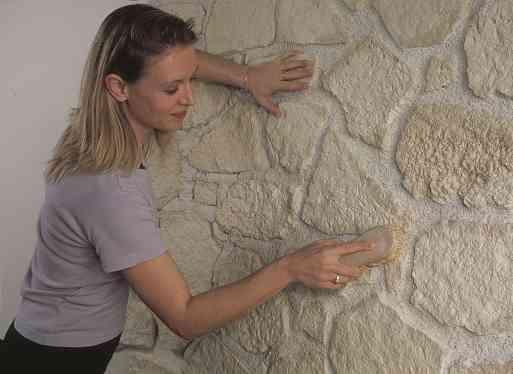 Parete Di Pietra Per Interni: Rivestimenti pietra per interni.