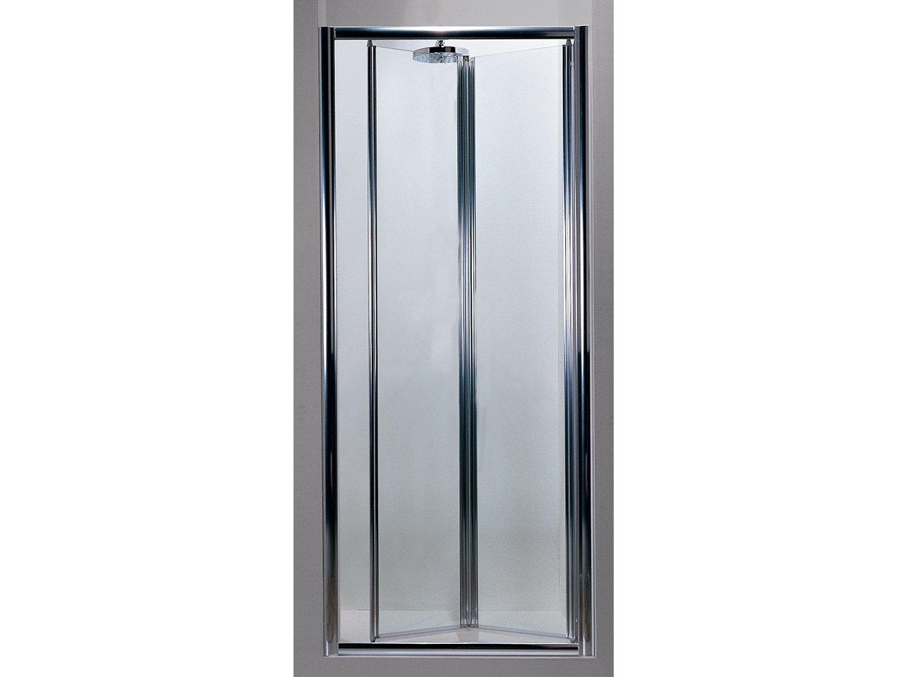 Porta kasai soffietto 90 cr trasp bianco iperceramica - Porta a soffietto in vetro ...