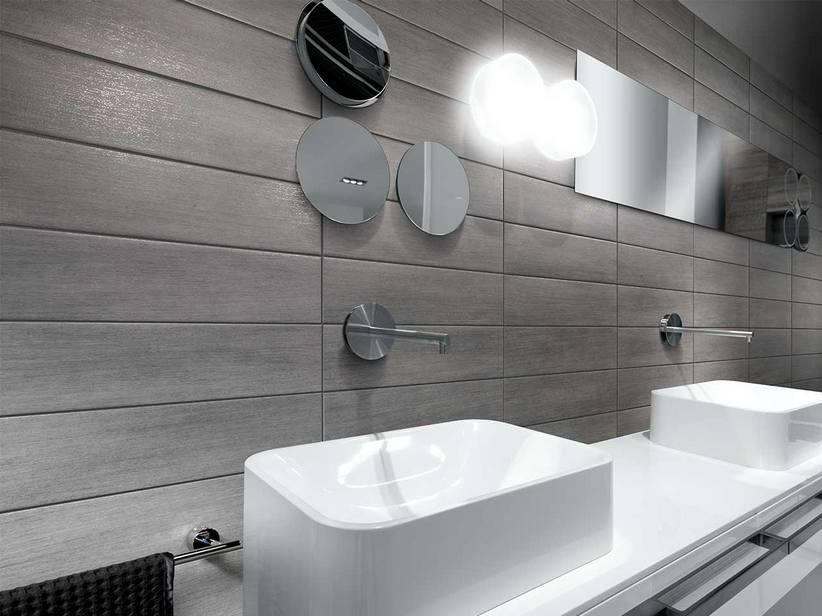 bagni con pavimebto nero gres porcellanato : Pavimento in Gres Porcellanato - Graphite