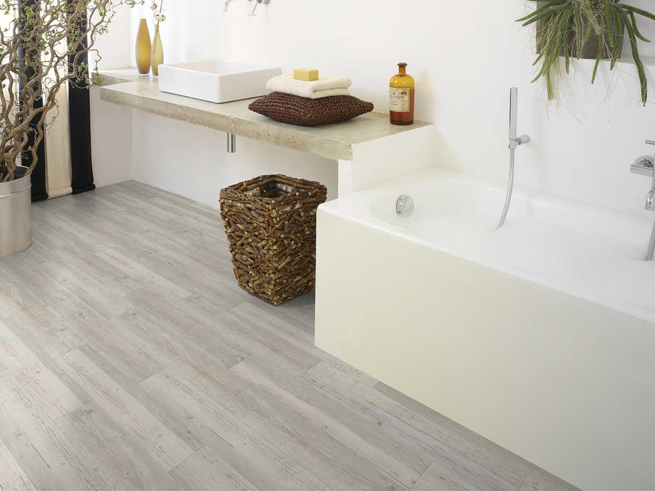 Nautic ceruse blanc pvc 914x152x2 iperceramica - Pavimento per cucina ...