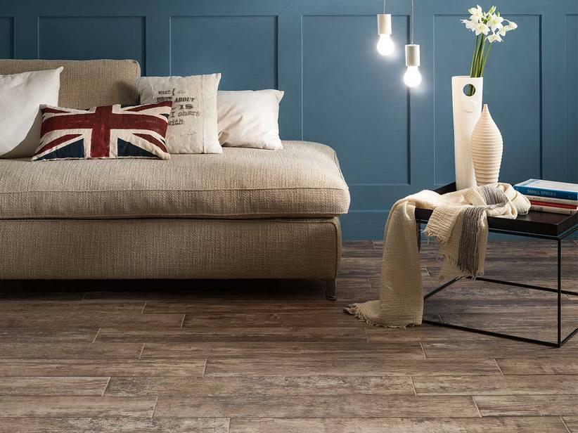 Pavimento effetto listone parquet invecchiato nevis for Effetto legno su muro