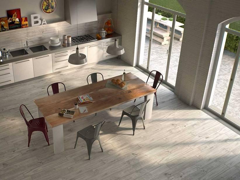 Maxi parquet in gres porcellanato timber iperceramica - Parquet per bagno e cucina ...
