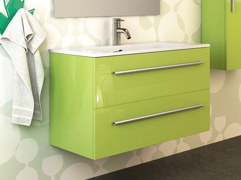 mobili da bagno verde mobile bagno verde acido mobile bagno next