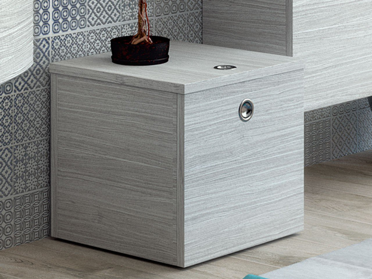 jolly 90 bathroom furniture laundry storage box cm 36x36xh36 ash