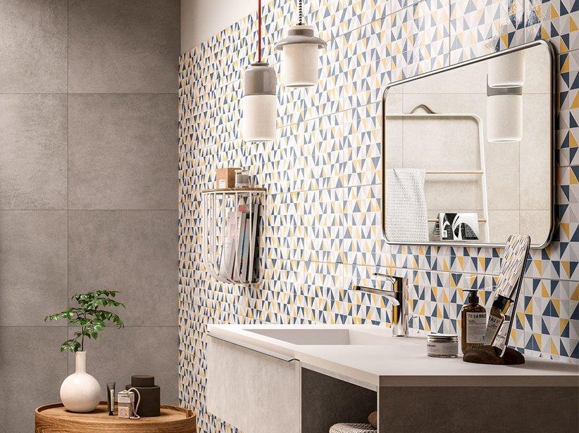Mosaico bagno iperceramica sole un mix di decori e mosaici per il