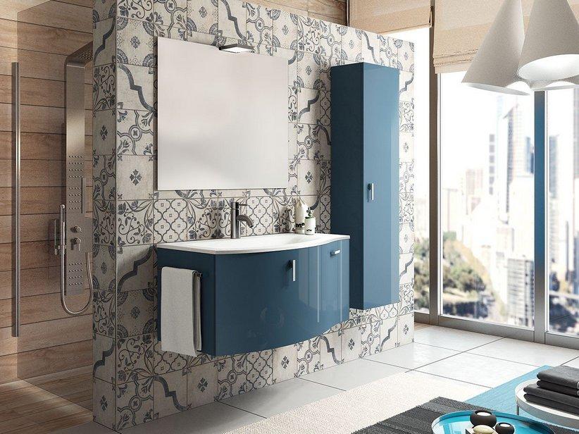 Rivestimento cucina smaltato maiolica decorata epoque iperceramica - Iperceramica pavimenti bagno ...
