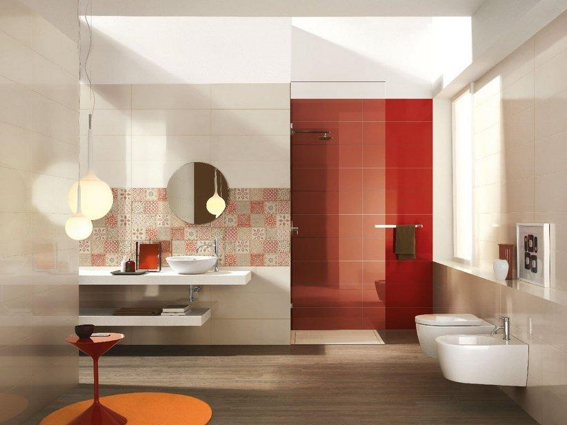 Rivestimento bagno supercolorato fresh iperceramica - Arredo bagno iperceramica ...