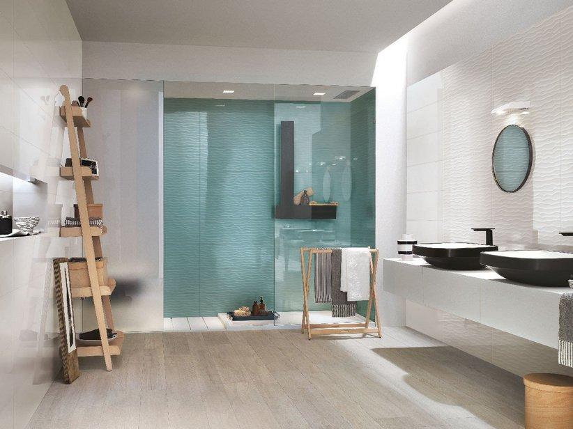 Rivestimento bagno supercolorato fresh iperceramica - Rivestimento mosaico bagno ...