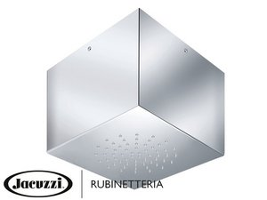 JACUZZI® SOFFIONE INOX CUBIC A SOFFITTO