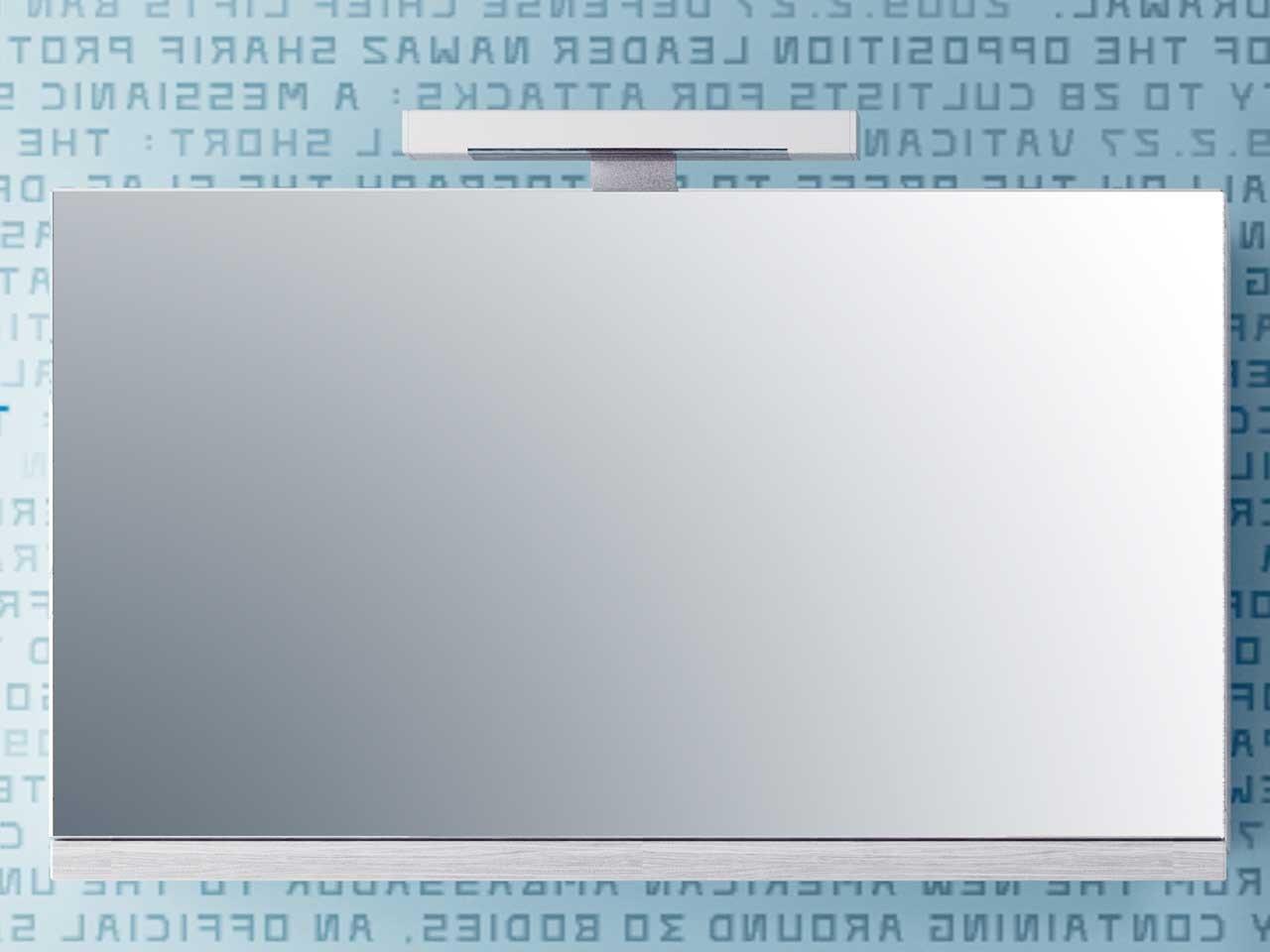 jolly specchio contenitore 89x50 cenere - iperceramica - Specchio Contenitore Per Bagno