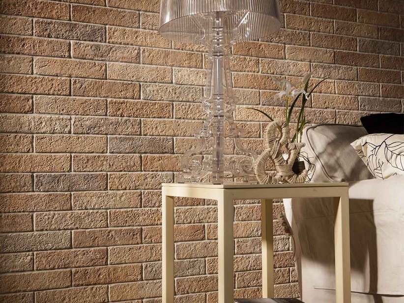 Gres porcellanato multiformato effetto cotto landscape for Piastrelle effetto mattone
