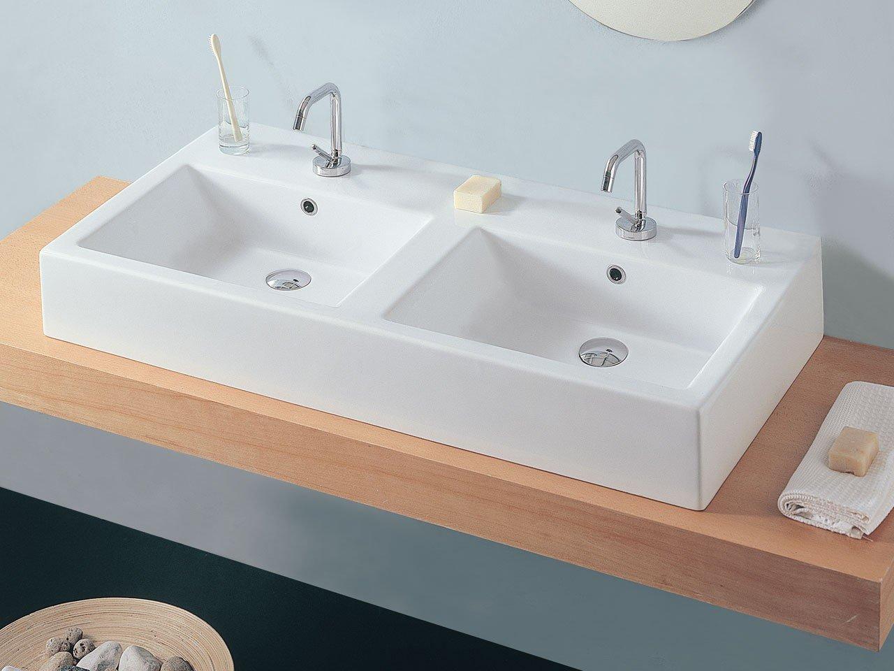Cucina living open space pareti tortora - Mobile lavello bagno ...