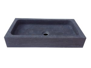 LAVABO PURESTONE UNION 60x32xH10 NERO