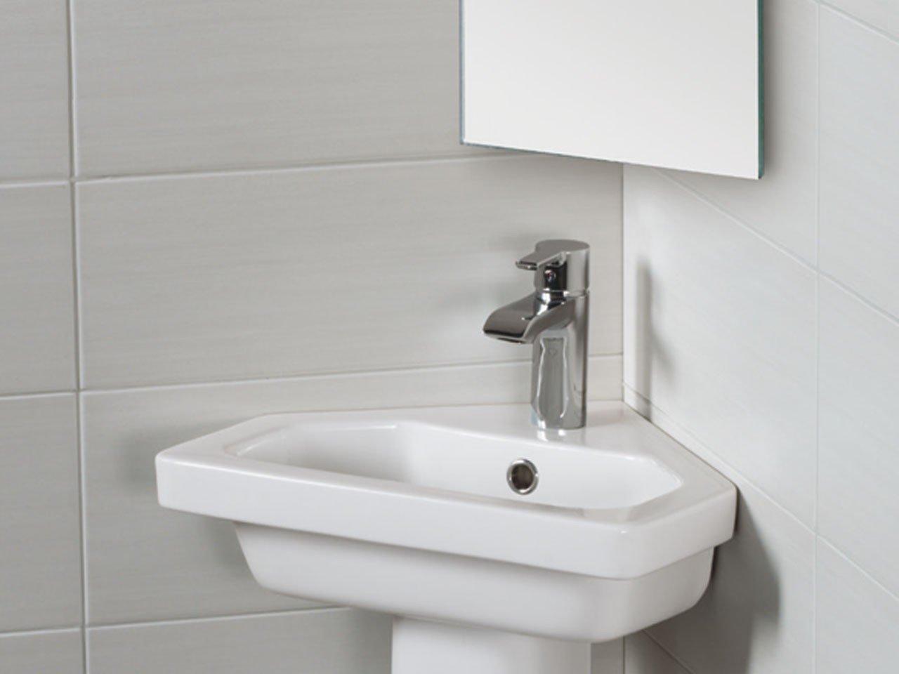 Londra lavabo ad angolo corner iperceramica - Lavabo ad angolo ...