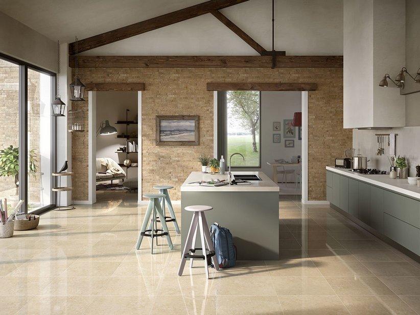 Rivestimento bagno effetto marmo lappato rettificato luxor iperceramica - Bagno effetto marmo ...