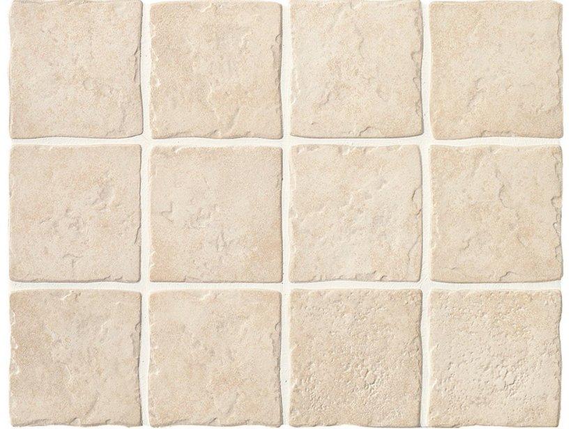 Zanzibar bianco sfuso 10x10 iperceramica for Piastrelle rivestimento cucina rustica