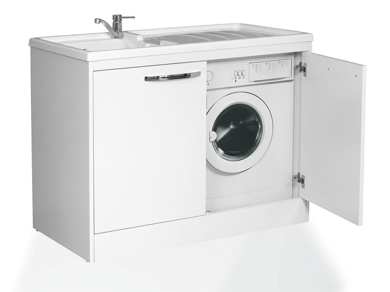 Coprilavatrice silvestro 109x60 iperceramica - Mobile lavatoio ...
