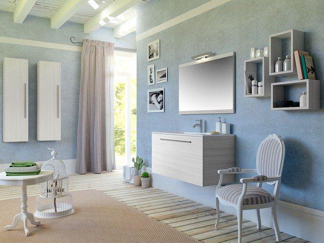 Mobili Moderni Wenge: Mobili moderni parete salone con ...