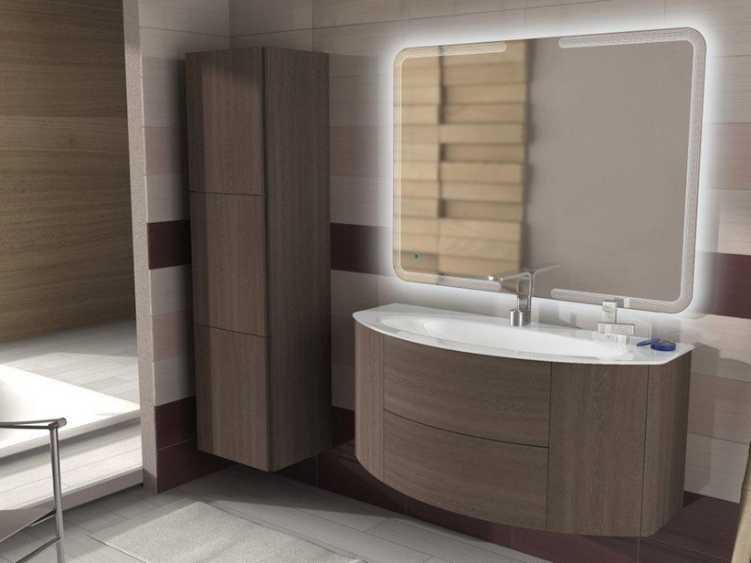 Mobile Bagno Rovere Sbiancato. Best Mobile Bagno In Rovere Roma With ...