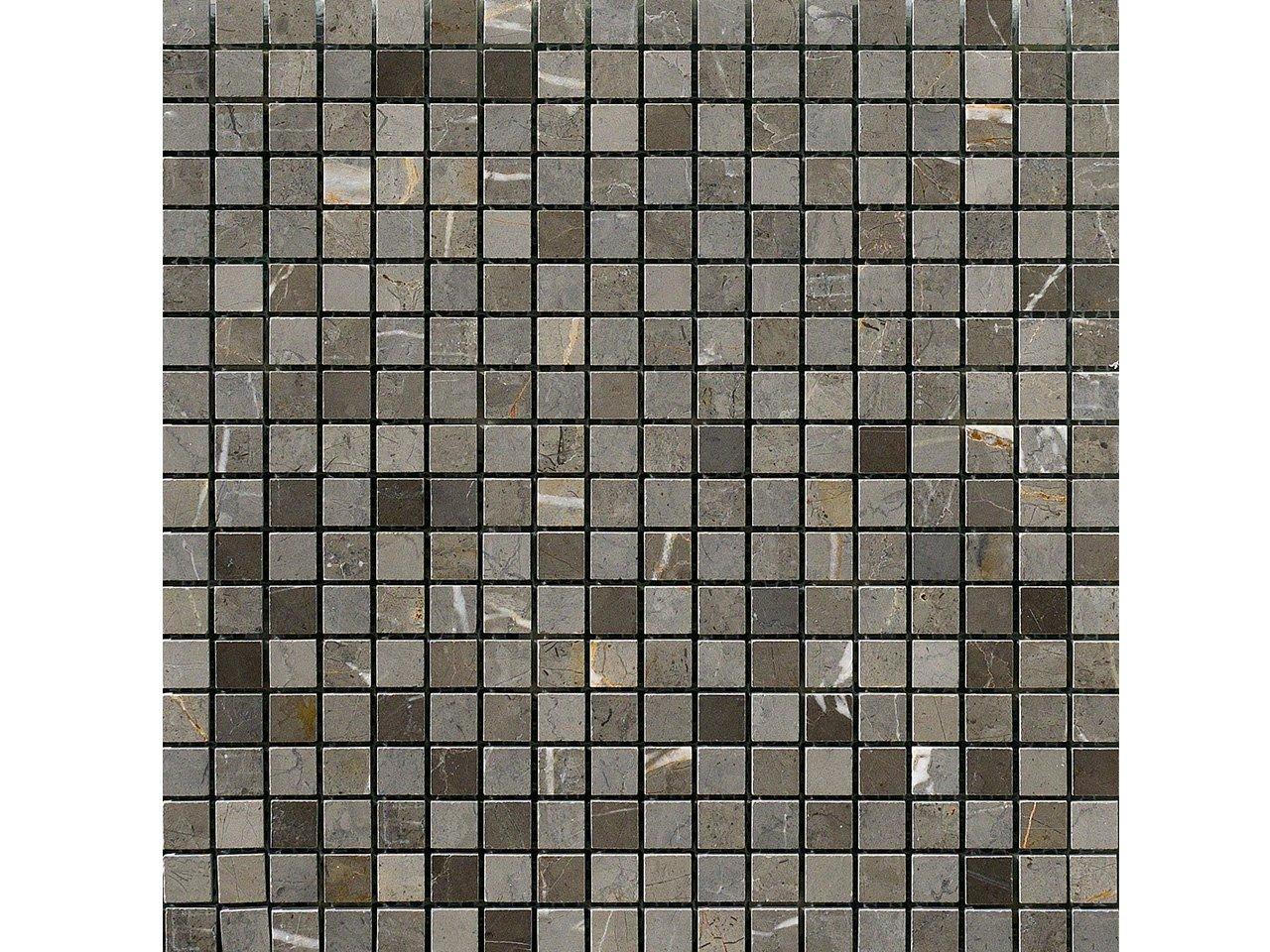 Mos persia grigio new 30 5x30 5 iperceramica for Piastrelle bagno mosaico grigio