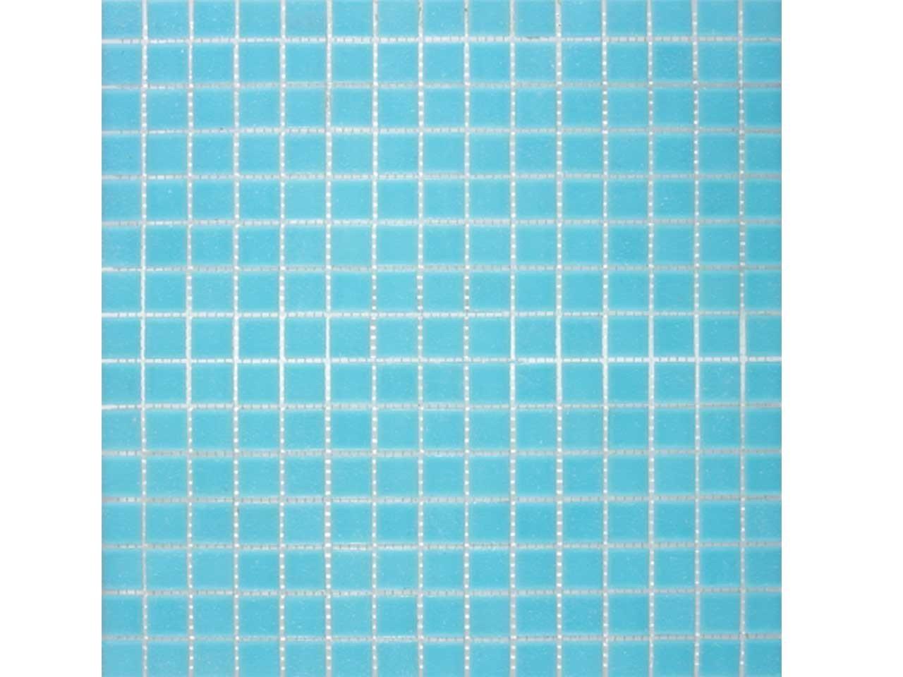 Mos vetro a03 azzurro iperceramica - Finto mosaico bagno ...
