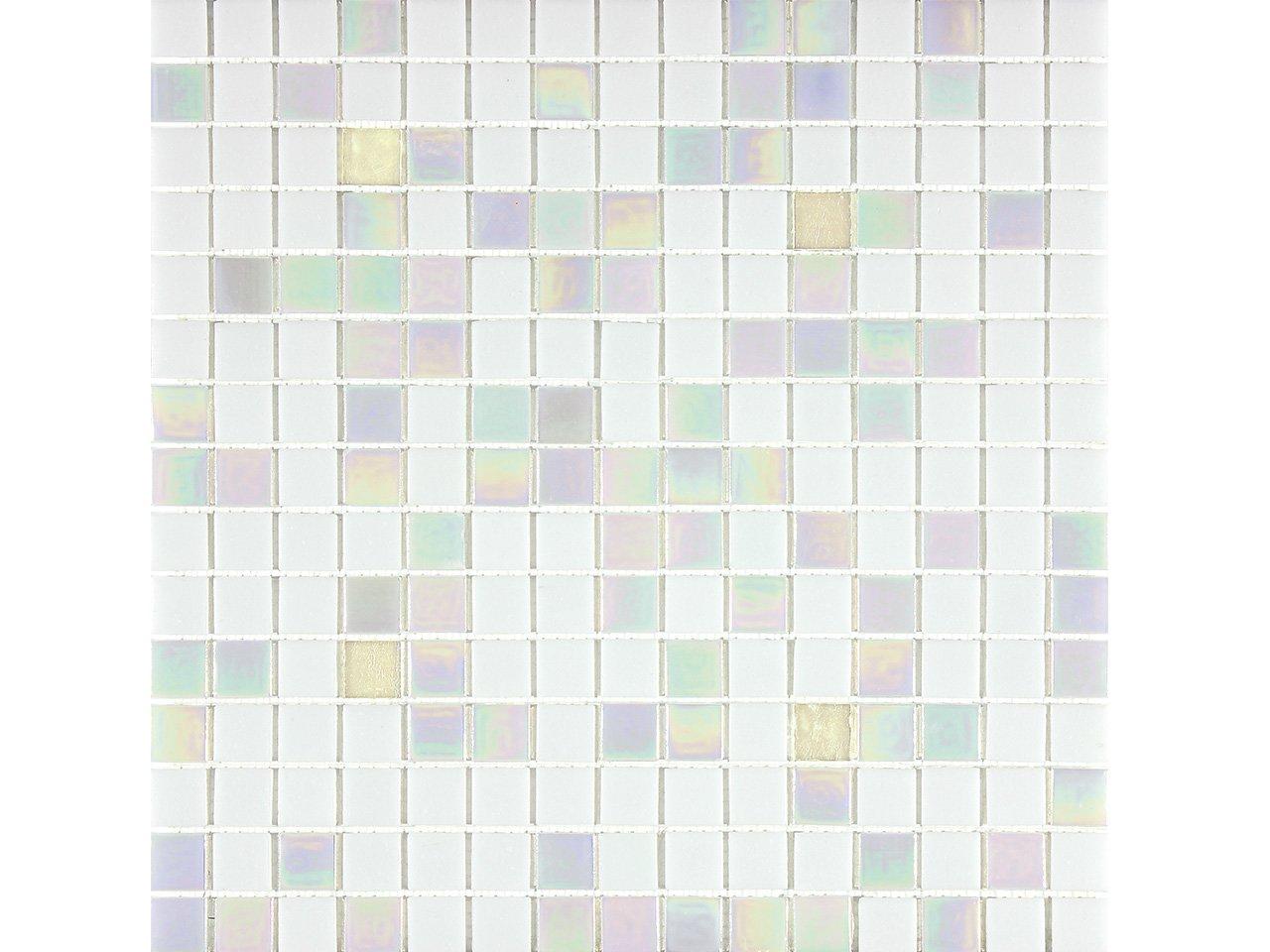 Mos vetro islanda iperceramica - Mosaico vetro bagno ...