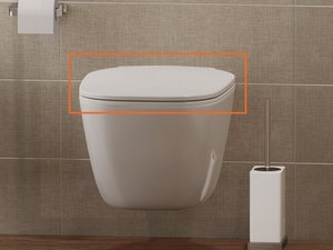 OSLO SEDILE WC SLIM CON SOFT-CLOSE