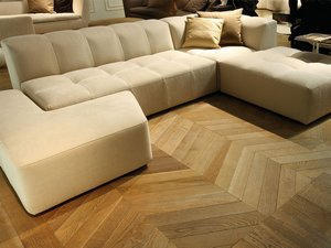 PARQUET SPINA UNGHERESE ROVERE NATURALE - PALAIS