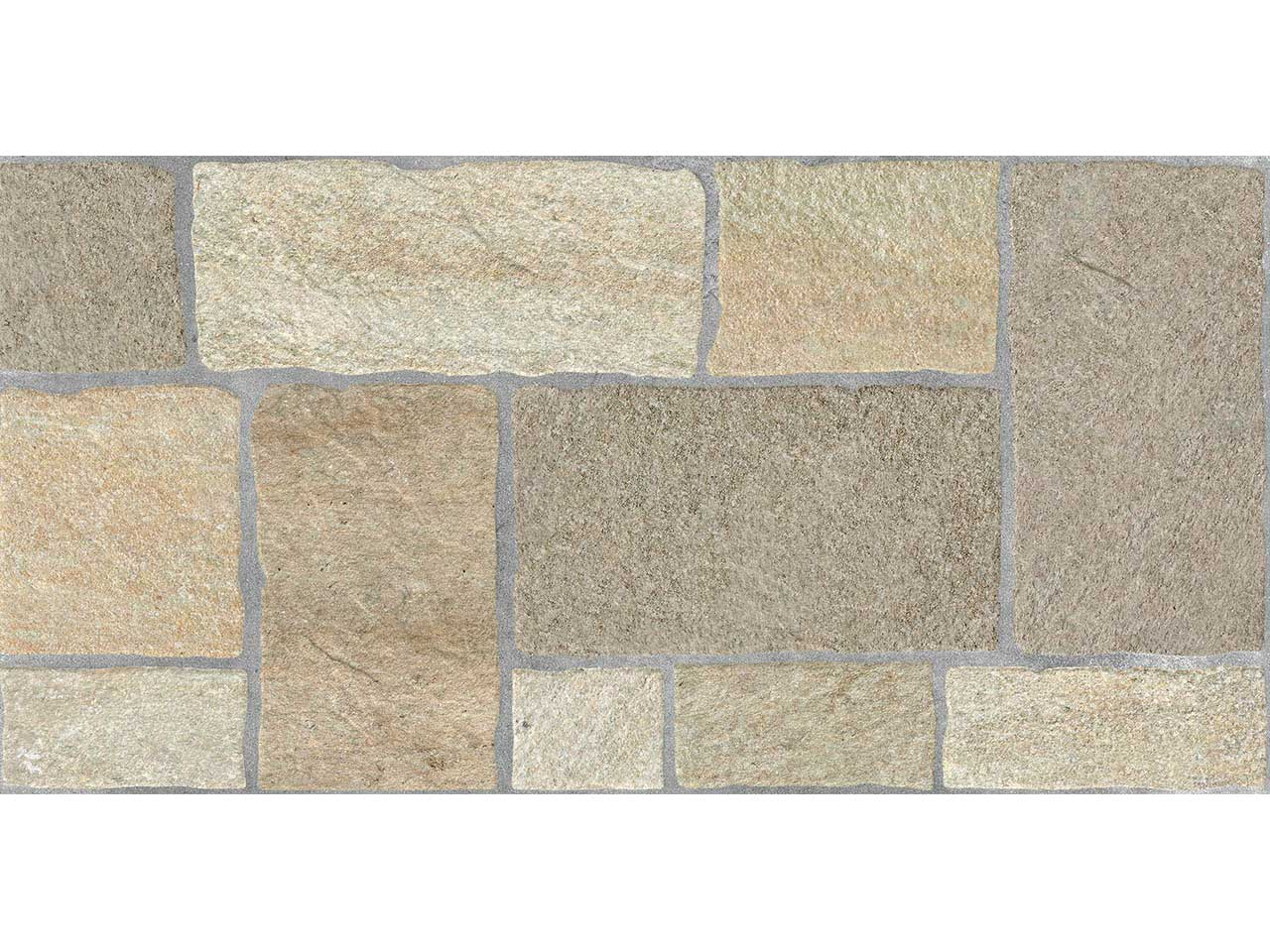 Villas petra beige 30x60 iperceramica for Pavimento esterno effetto pietra