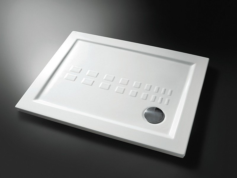 Piatto doccia ito cm. 80x100 h5,5 bianco   iperceramica