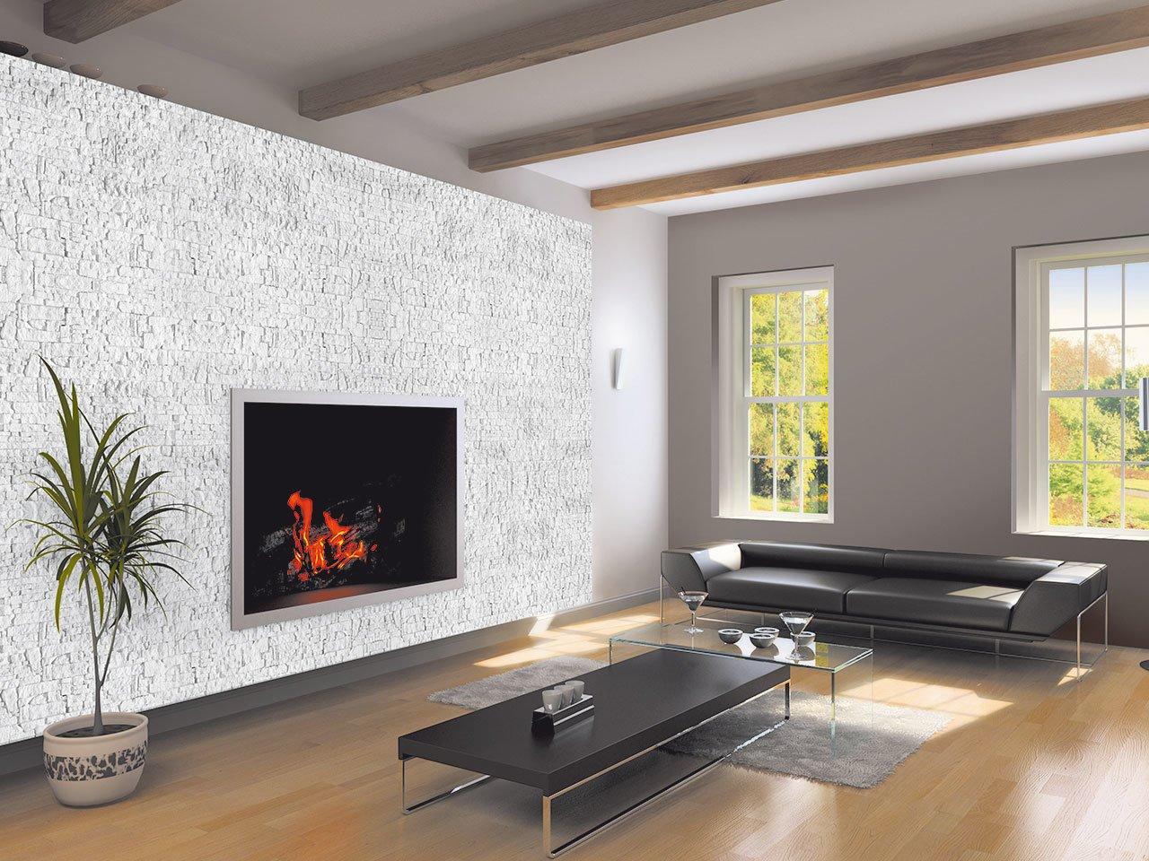 Chamonix bianco int iperceramica for Immagini per pareti interne