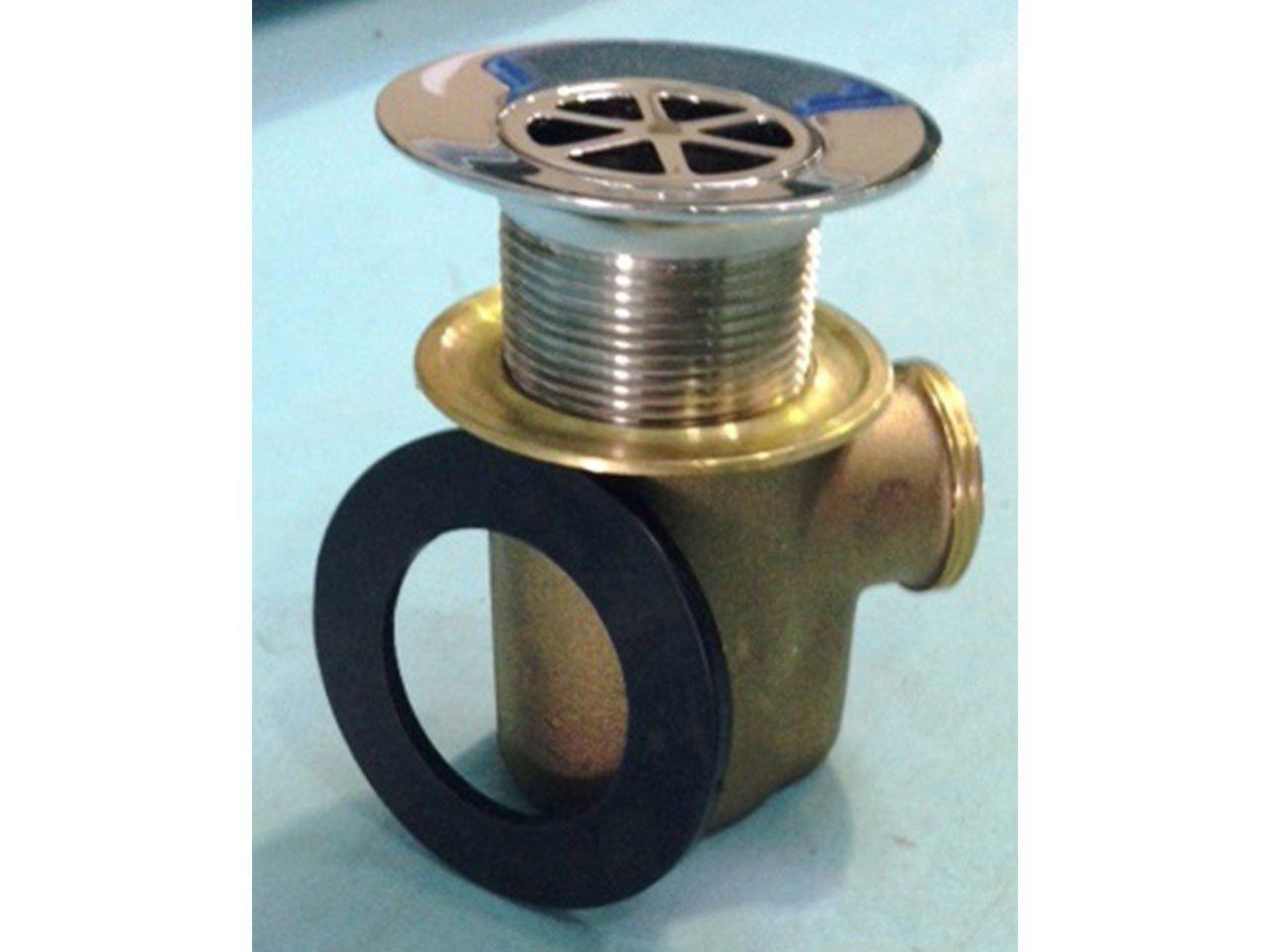 Piletta doccia ottone 60 mm cromo iperceramica - Pilette per doccia ...
