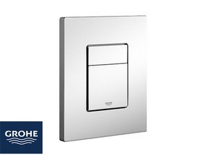GROHE® PLACCA EVEN 2 PULSANTI CROMO