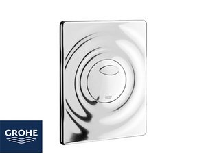 GROHE® PLACCA WAVE 2 PULSANTI CROMO