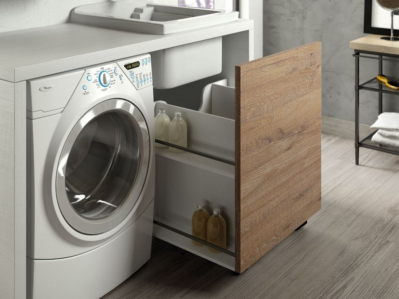 QUBO lavanderia composizione 43 - Iperceramica