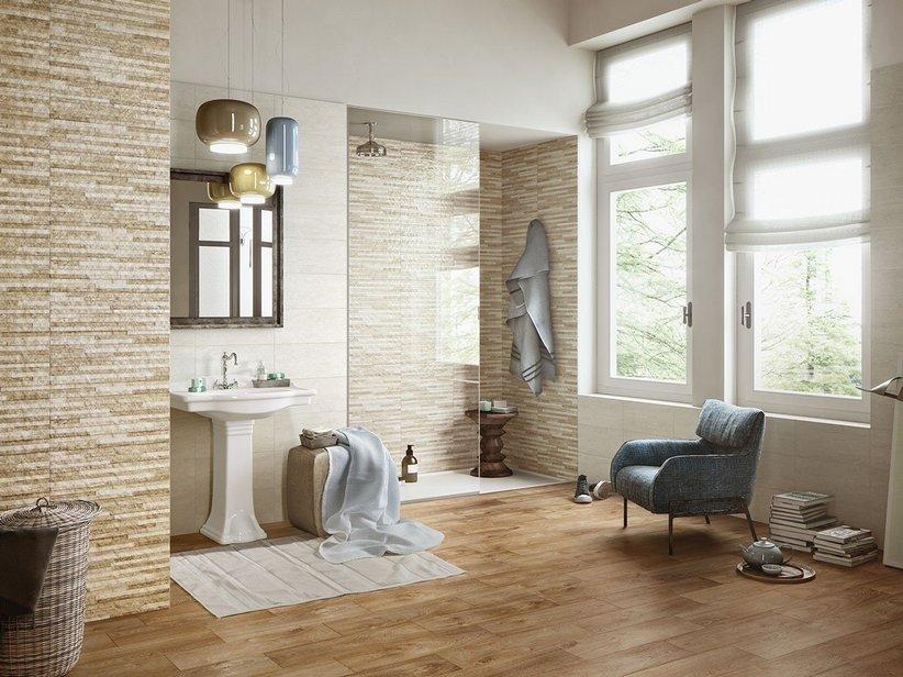 Rivestimento bagno bricoman design per la casa moderna