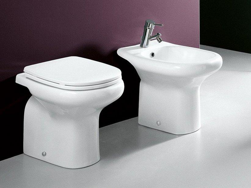 Atene wc a terra iperceramica - Rubinetti sanitari bagno ...
