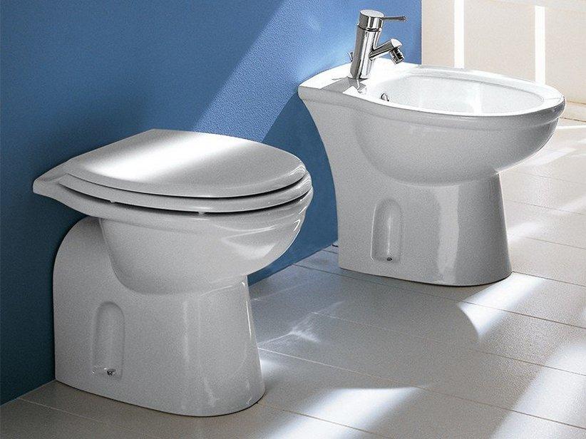 Praga wc a terra scarico pavimento iperceramica - Rubinetti sanitari bagno ...