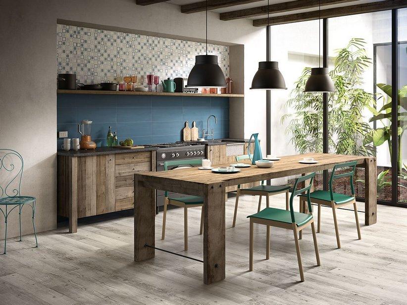Rivestimento bagno colorato grande formato sugar iperceramica - Pavimenti per cucina rustica ...