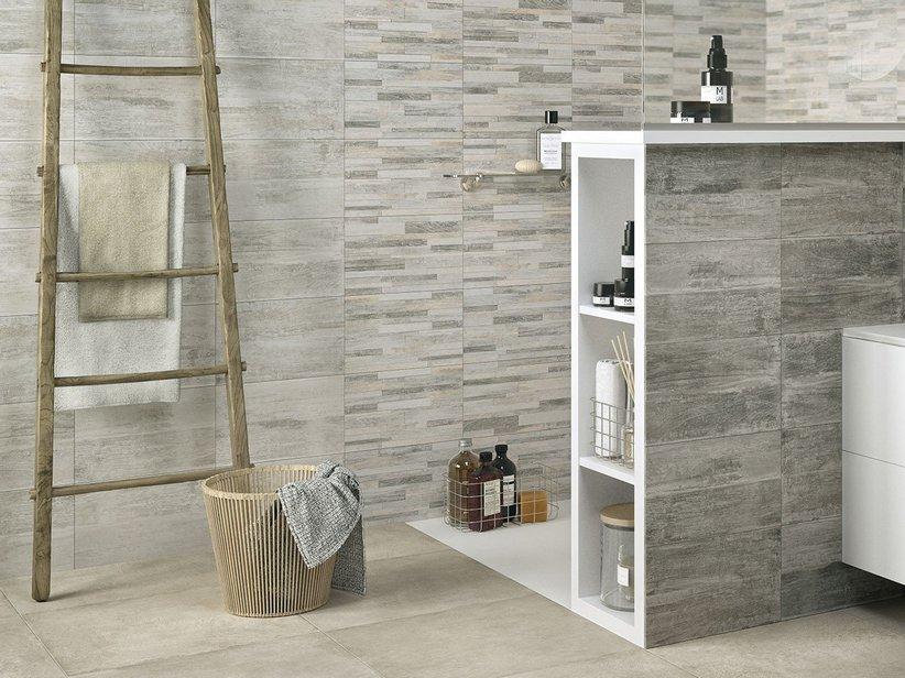 Rivestimento in bicottura effetto legno taiga iperceramica - Piastrelle finto marmo ...