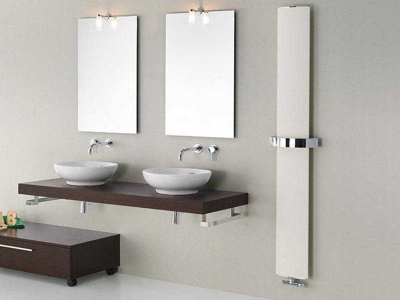 Othello mono termoarredo bianco sable 39 iperceramica - Termoarredo design bagno ...