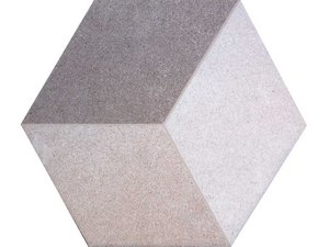 Gres porcellanato esagonale decoro effetto 3d iperceramica for Gres porcellanato 3 mm opinioni