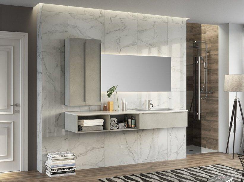 Trendy 190 composizione 10 iperceramica - Iperceramica mobili bagno ...