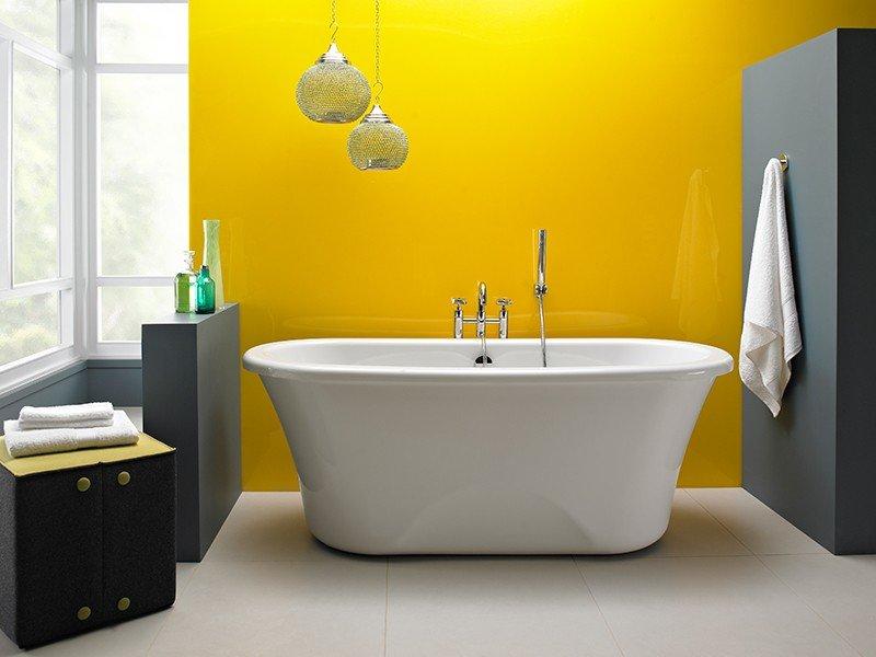 Vasca Da Bagno Freestanding Economica: Vasche da bagno colorate. Vasca da bagno freestanding: da ...