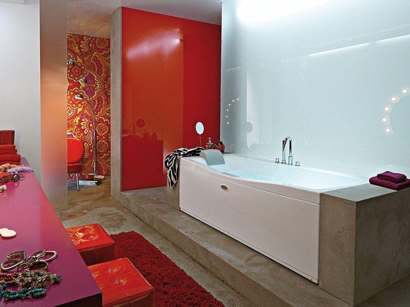 Jacuzzi versa vasca idro 170x70 dx pan fr lat iperceramica - Vasche da bagno immagini ...