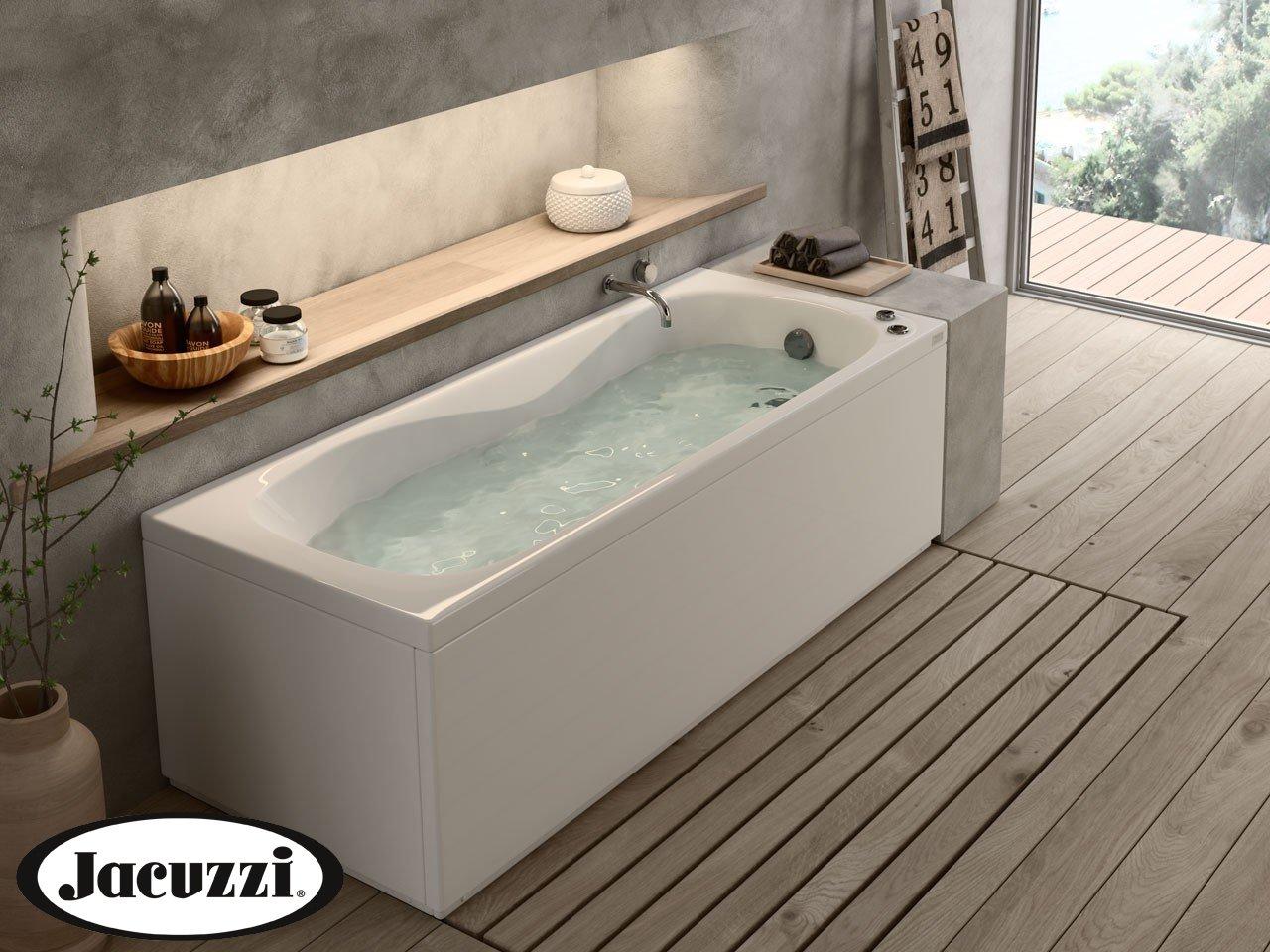Jacuzzi soho vasca idro 170x70 sx pan fr lat iperceramica - Vasche da bagno sovrapposte prezzi ...
