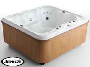 JACUZZI® OXIA SPA 204x189 4P WOOD BIANCA