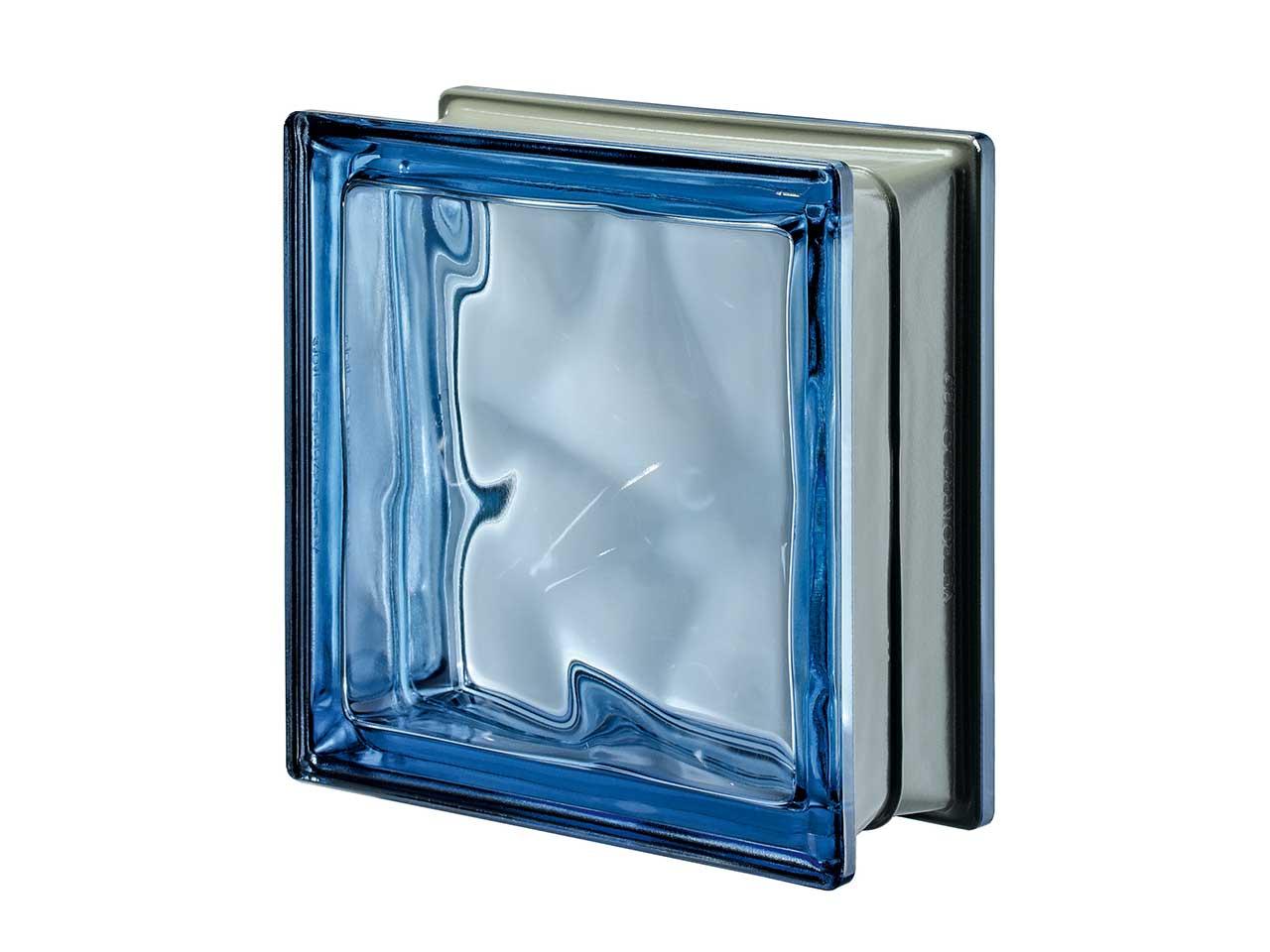 Vetromat blu q19 o met 19x19x8 iperceramica - Finestra vetrocemento ...