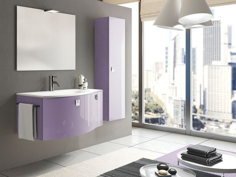 Mobile bagno Wave 100 Color - Iperceramica
